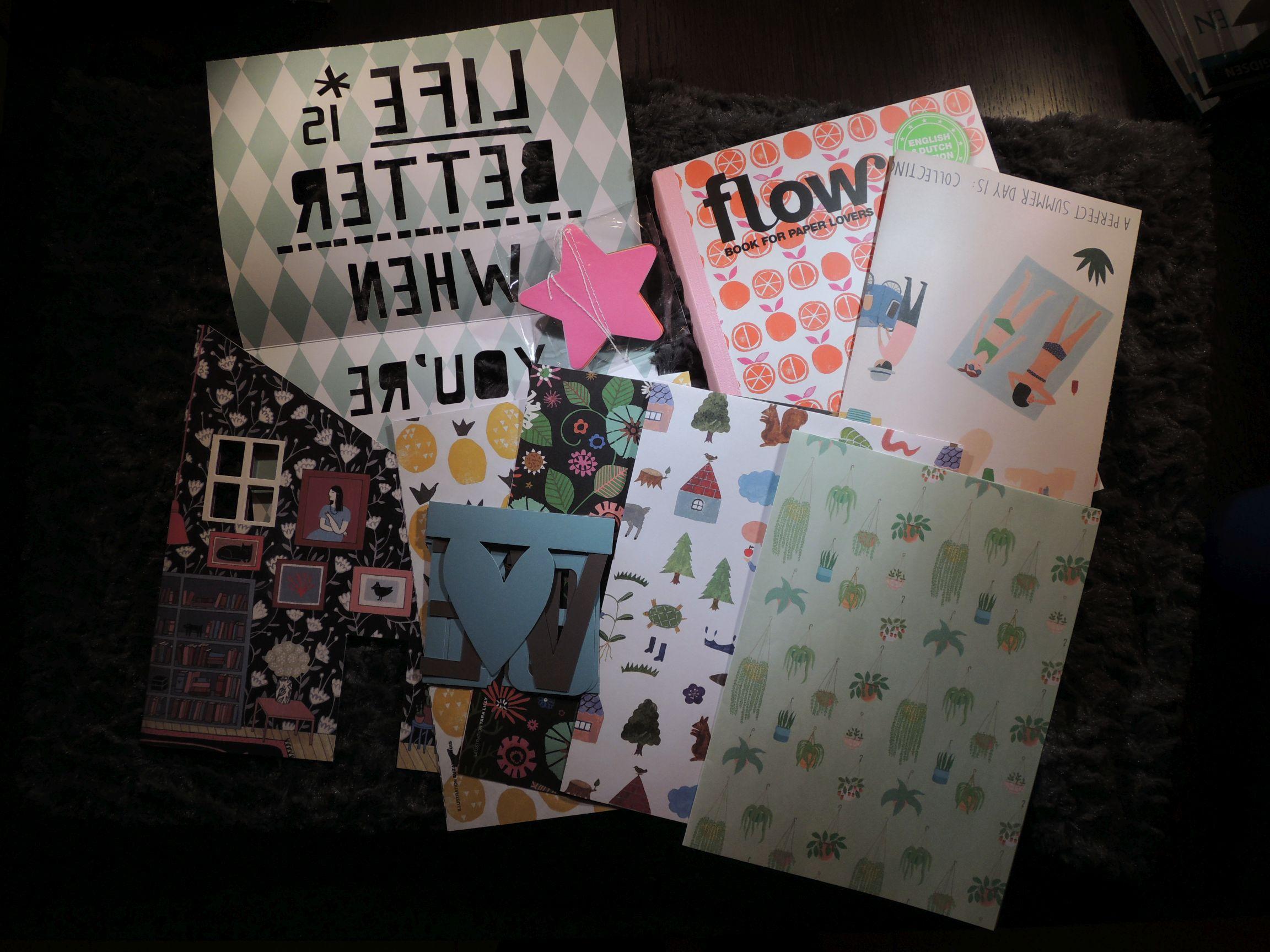 Eerste indruk: Flow Book for Paperlovers
