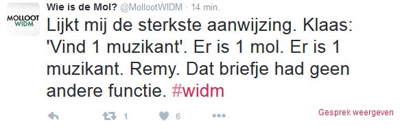 WIDMtweet