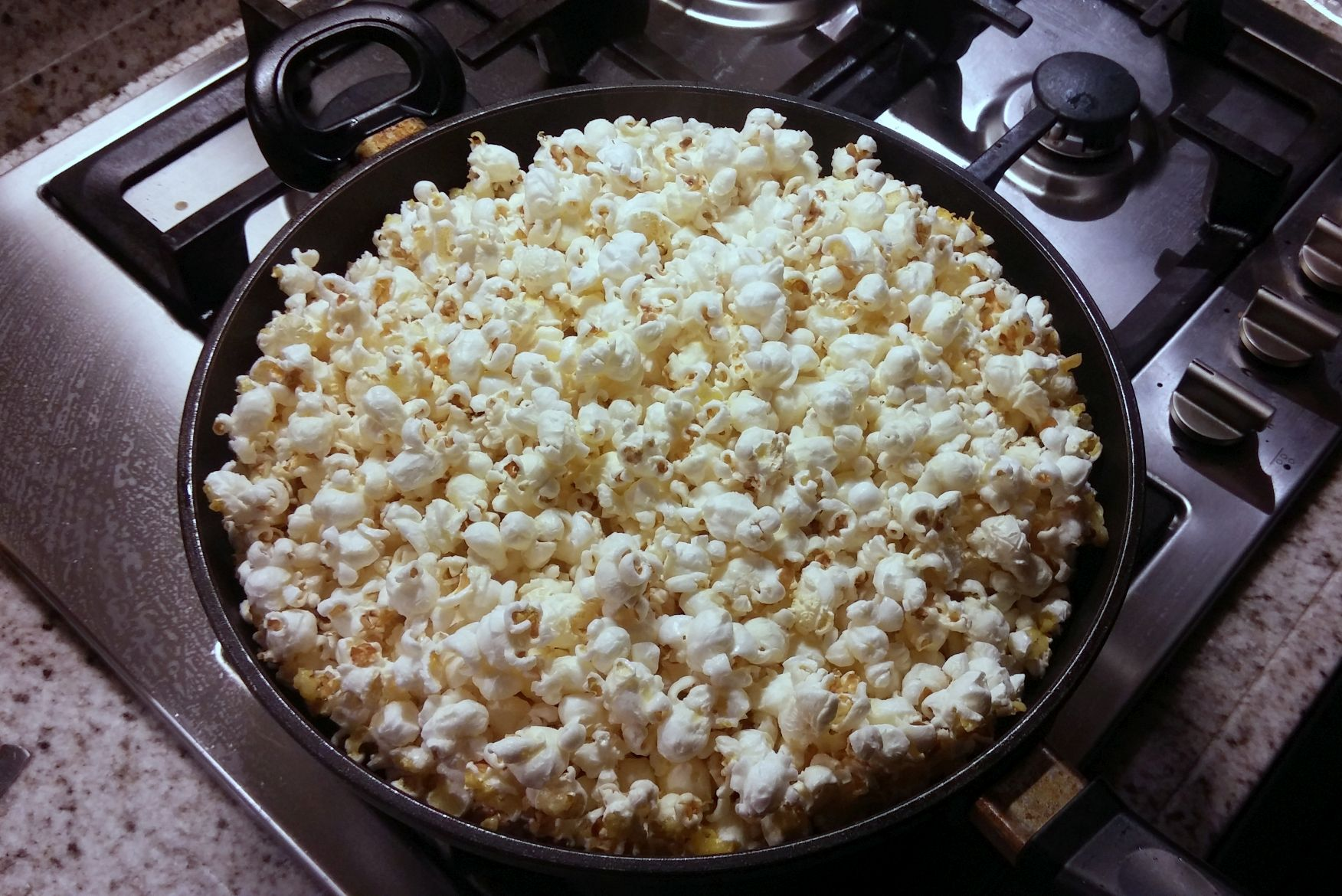 Zelf zoete popcorn maken