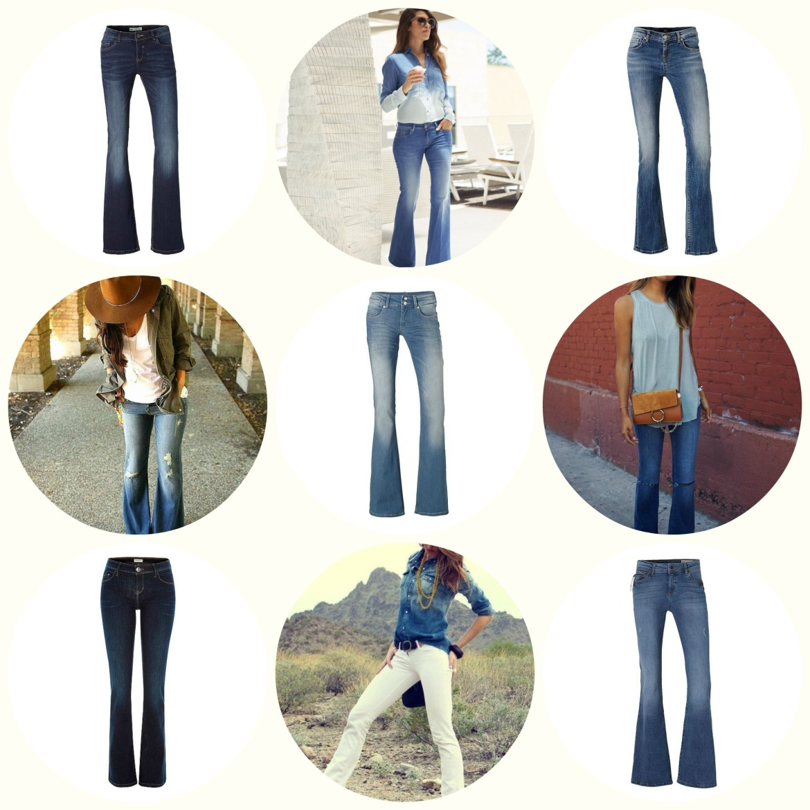flared jeans pic